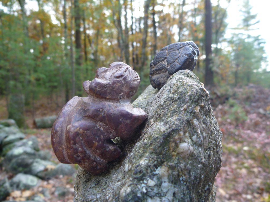 Sacred Rocks talking at US Stonehenge NH